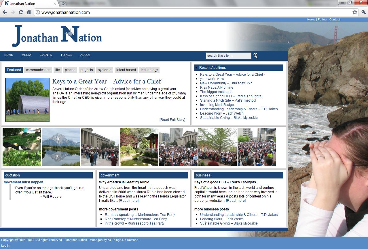 Old JonathanNation.com
